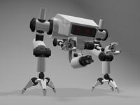 robot warriors 3d model