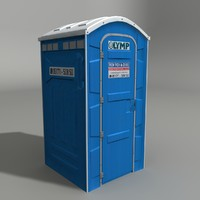 Public Toilet (blue)