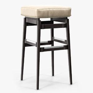 ponti stool obj