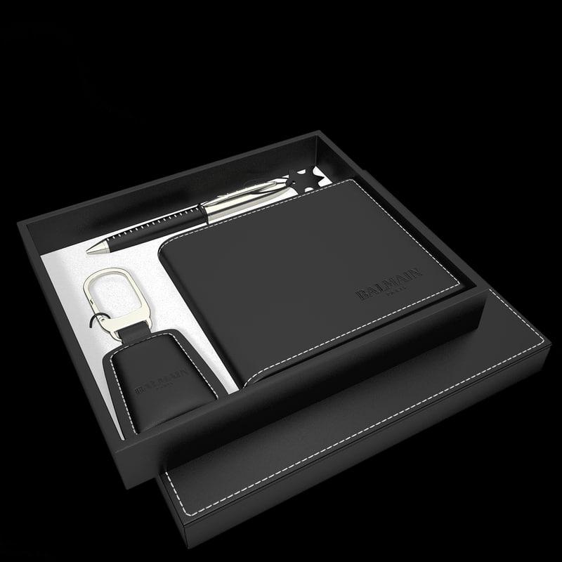 gift set 3d model