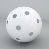 3d model floorball