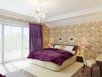 3ds max bedroom interior