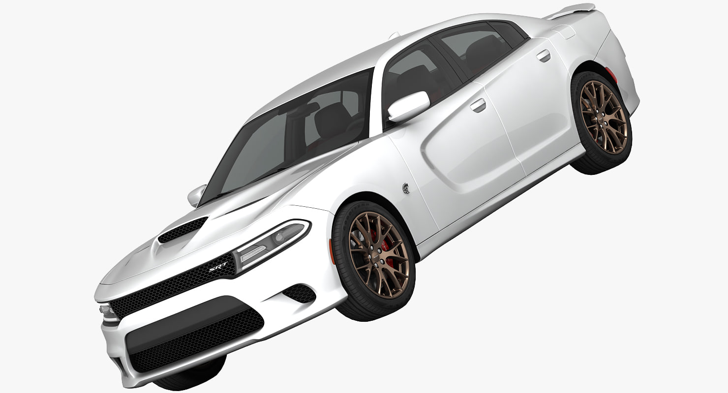 dodge charger srt hellcat 3d model