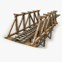 Wooden Railway Bridge 3