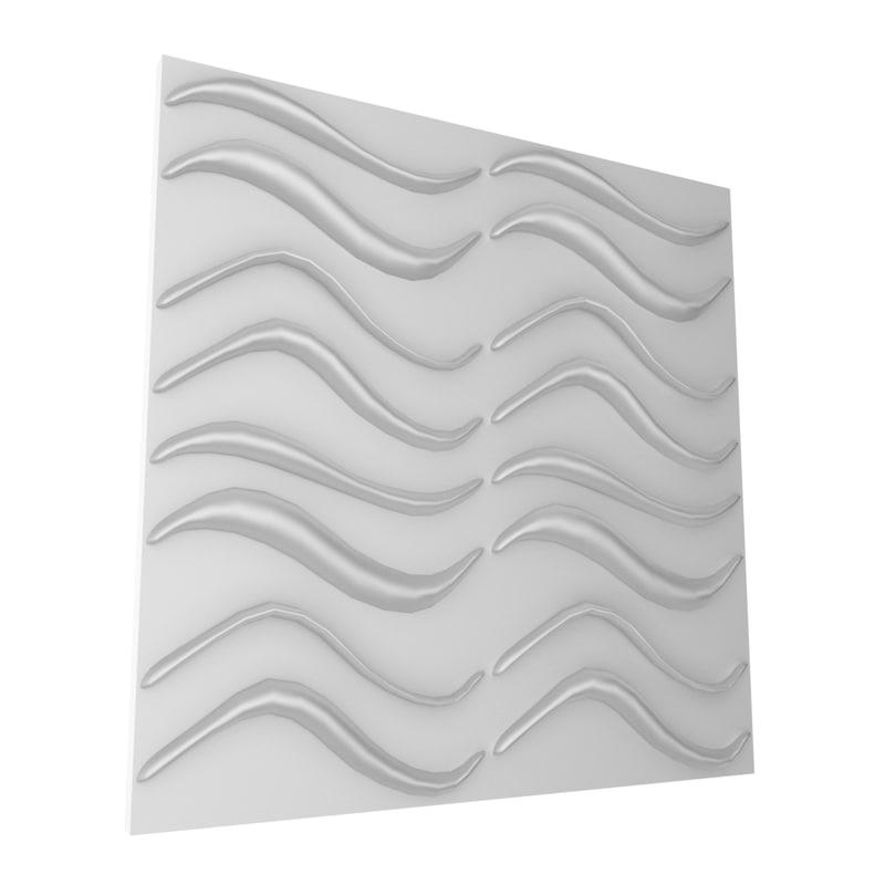 3d model wall panel