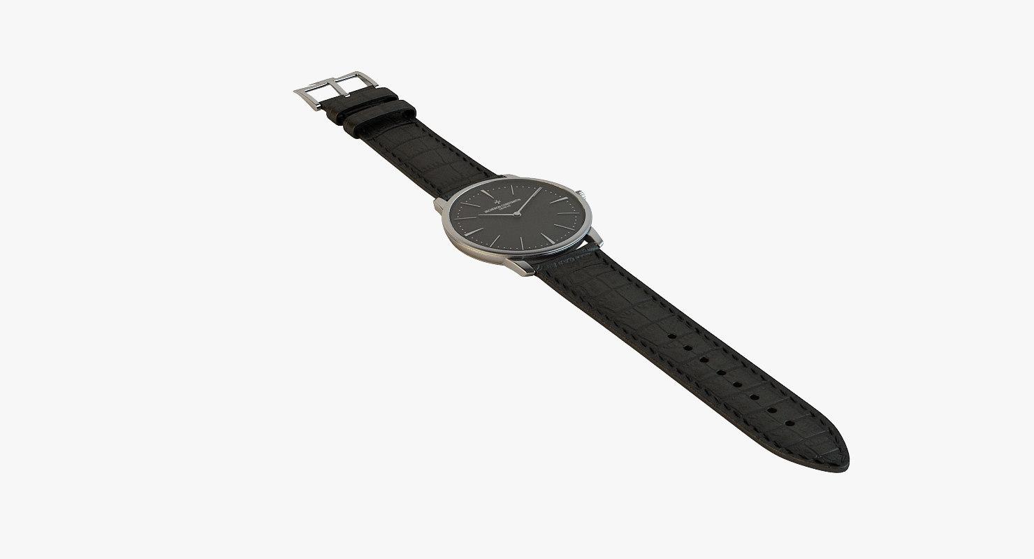 - patrimony silver black 3d model