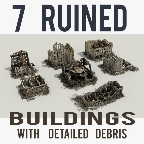 max ruined building 6 collections