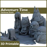 3d printed scene adventure