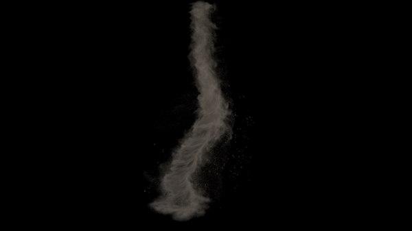 3d model houdini asset tornado -