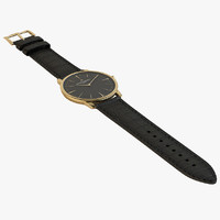 Patrimony - Gold Black Watch