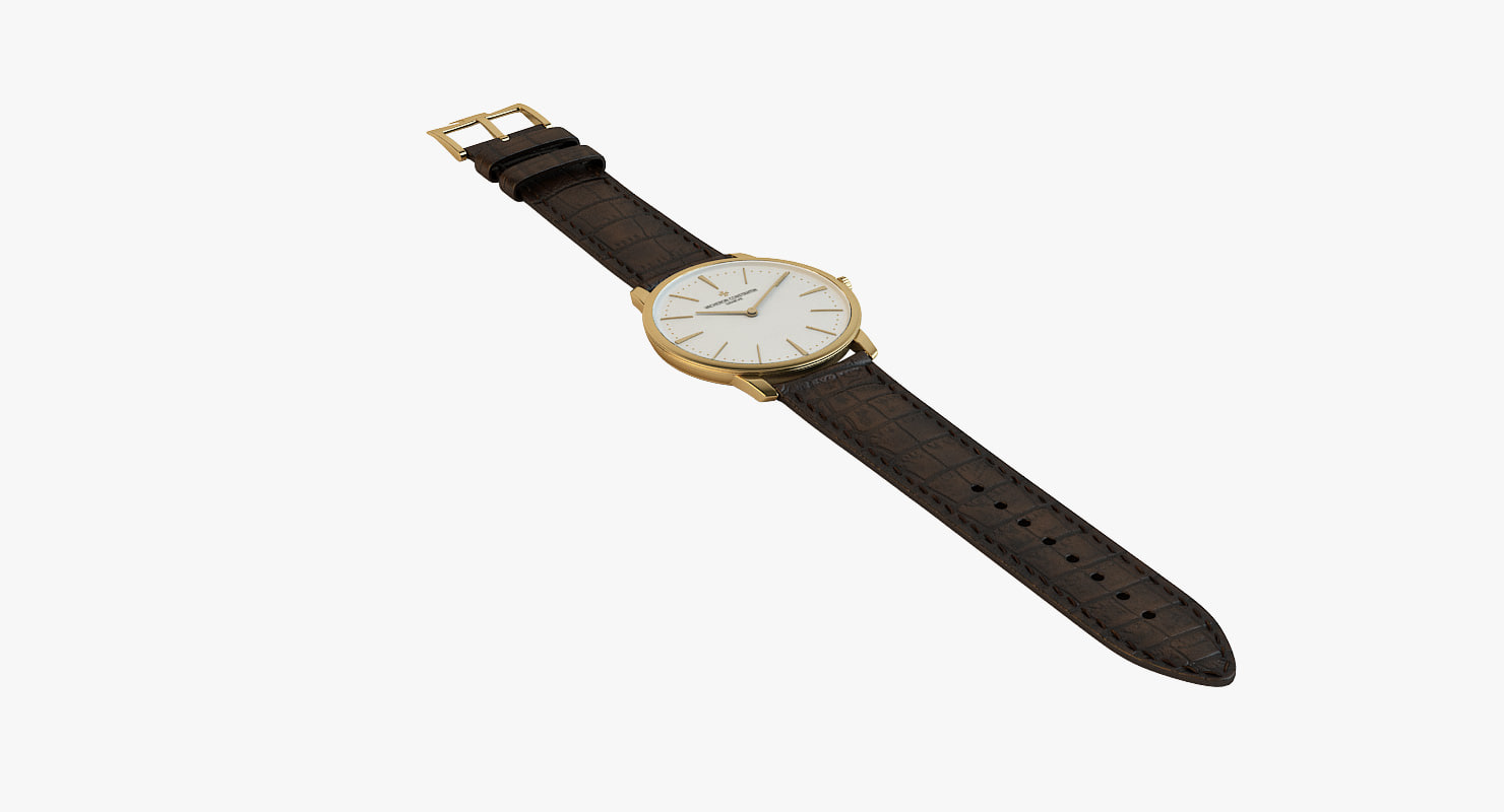3d model - patrimony gold brown