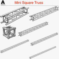 3d mini square truss 005
