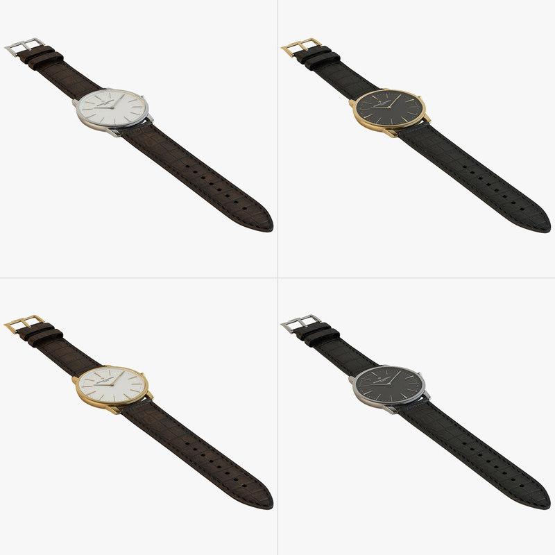 - patrimony watch 3d model
