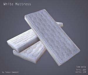 clean mattress obj