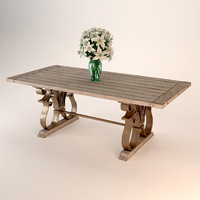 3ds max andrew martin fredrick dining table