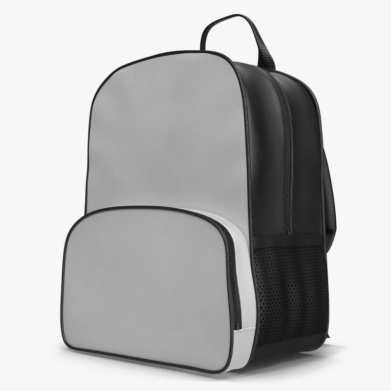 3d backpack 9 model
