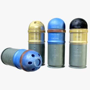 3d ready ammo grenade launcher