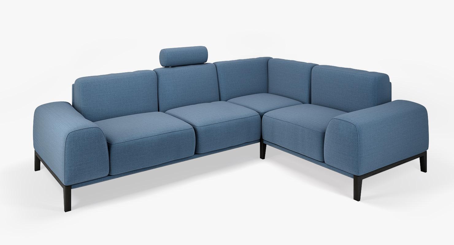 sofa couch trendmanufaktur 3d model