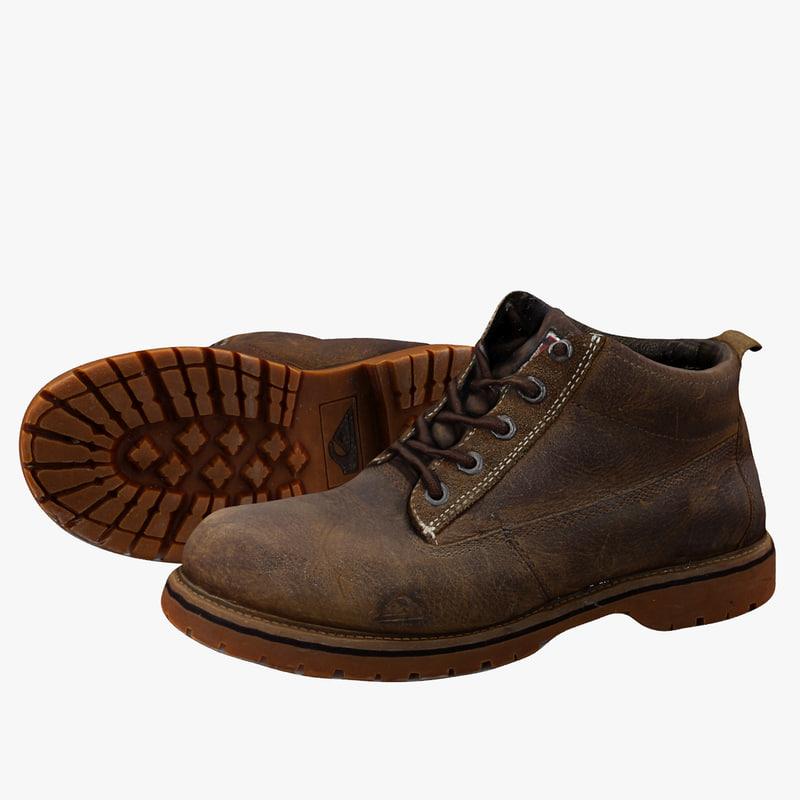 3d c4d construction boots