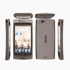 free xeon telephone phone 3d model