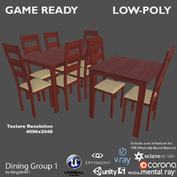 dining group 1 3ds