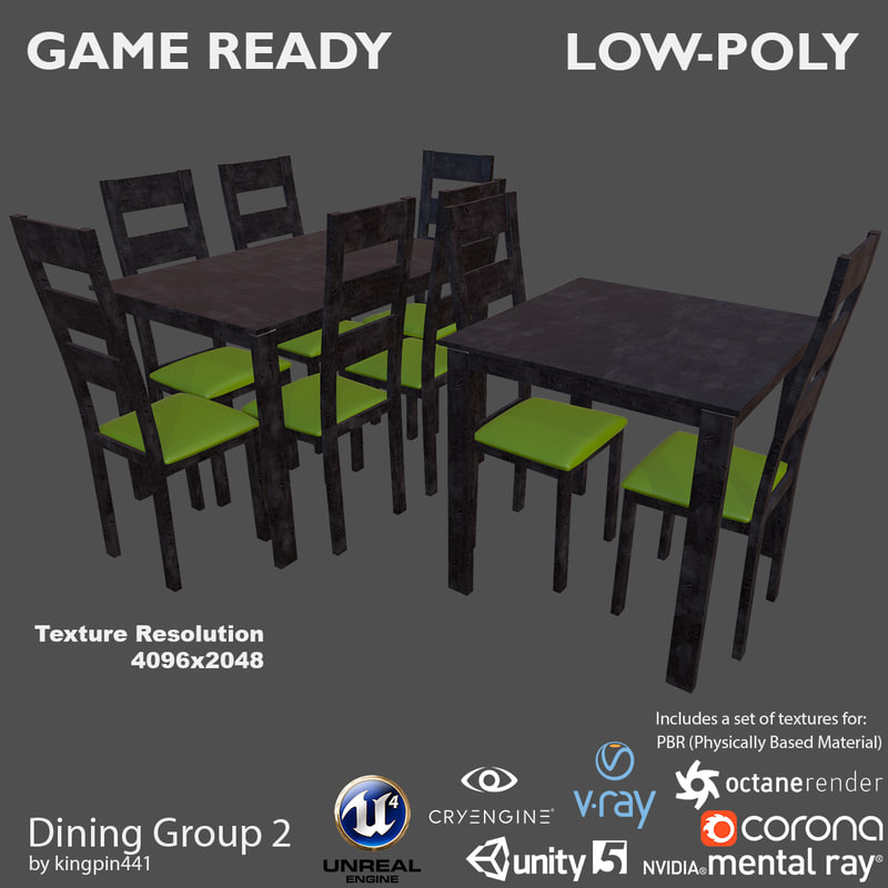 3d 3ds dining group