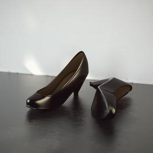 heels 3d c4d