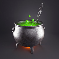 Witch Magic Cauldron