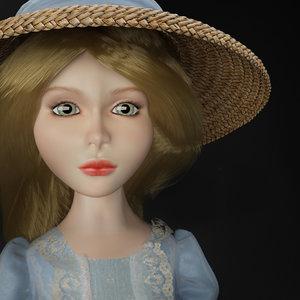 3d doll alice model