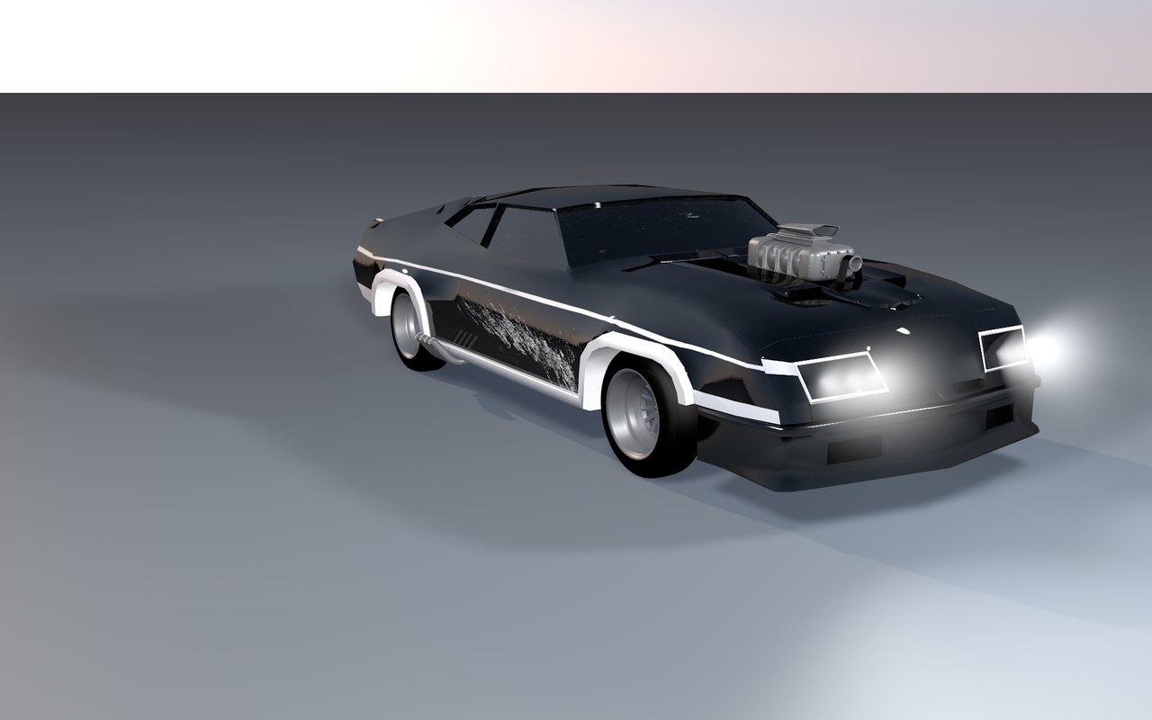 mad interceptor 3d model