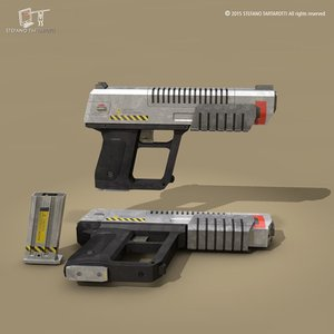energy weapon sci-fi 3ds