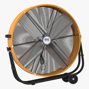 3d industrial fan