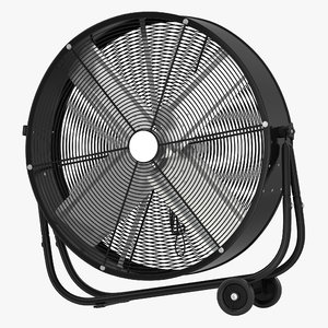 industrial fan generic 3d model