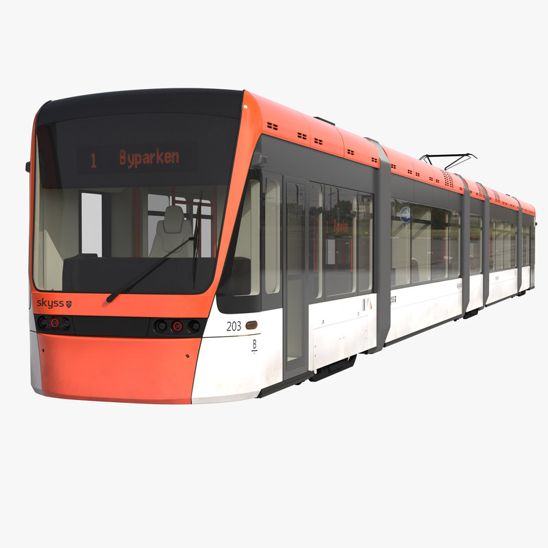 max light rail train bybanen