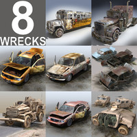 Vehichle Wrecks Pack
