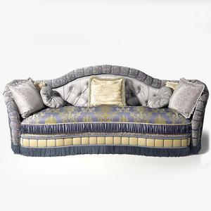 3d model sofa jumbo canova can-73