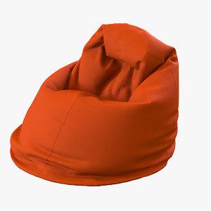 3dsmax bean bag chair