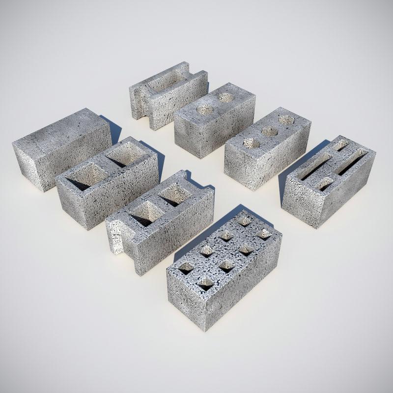 concrete block max