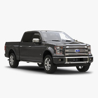Ford F 150 SuperCrew 2015 Simple Interior