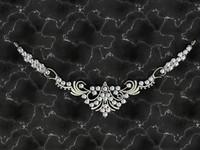 jewellery necklace 3dm