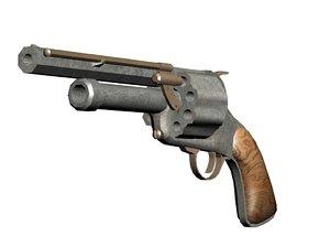 lemat revolver 3d max