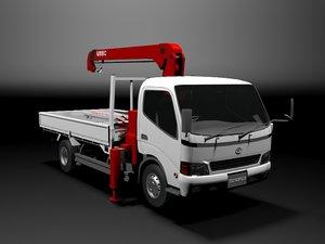 3d model toyota toyoace truck