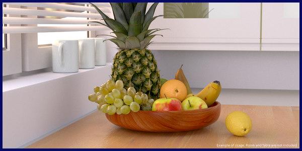 3ds fruit pack bowl vol3
