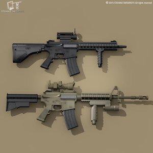 c4d m4 rifle