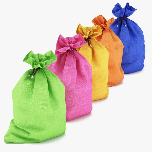 3d toy bags model