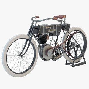 3d harley davidson 1905 motorcycle motor