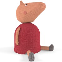 toy pig peppa 3d model