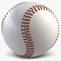 3d ball baseball model