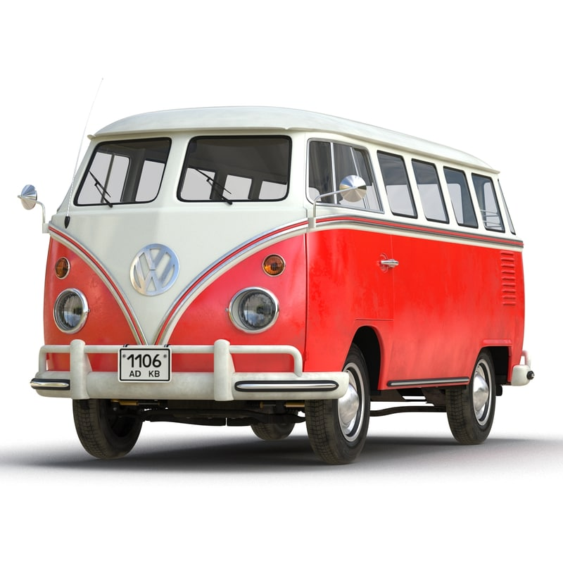 volkswagen type 2 red max