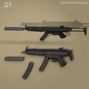 c4d mp5a3 suppressor